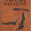 Nature Magazine, Seagulls Cover Art in Yellow c.1947