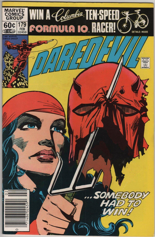 Daredevil #179 Elektra, Somebody Had to Win c.1982