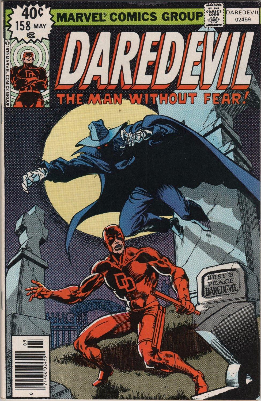 Daredevil #158 Rest in Peace DD c.1979