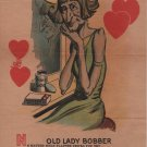 Old Bobber at Her Vanity Valentines Day Card c.1926