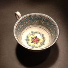 Wedgwood Fine Bone China Peony Shape Footed Cup, Florentine Pattern