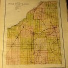 Map of Wood County Ohio, Maumee Valley Map Co. c.1912