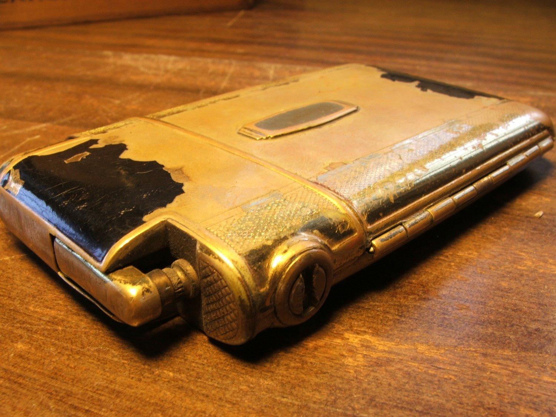 Marathon Cigarette Case & Lighter Combo c.1949