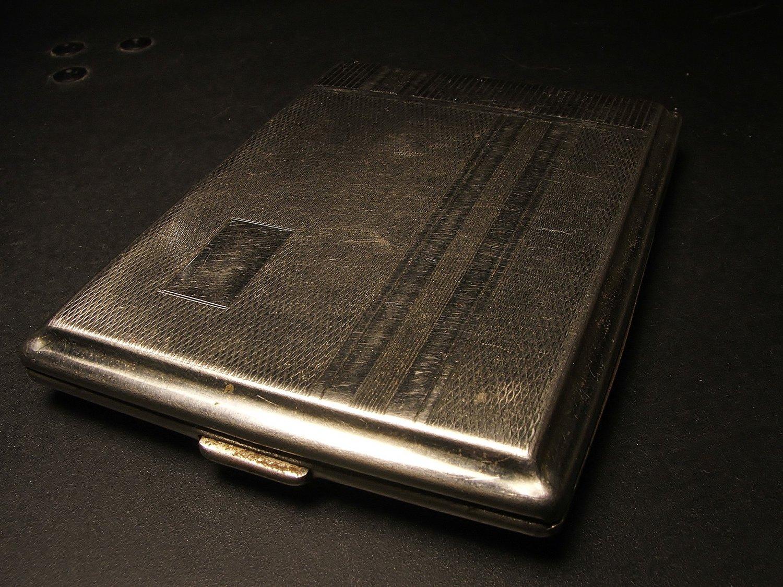 German Chrome Cigarette Case c.1944