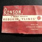 Ronson Flints, Paper Packets c.1940