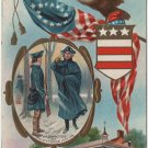 Geo. Washington Bday Card, Valley Forge & Mt. Vernon c.1910