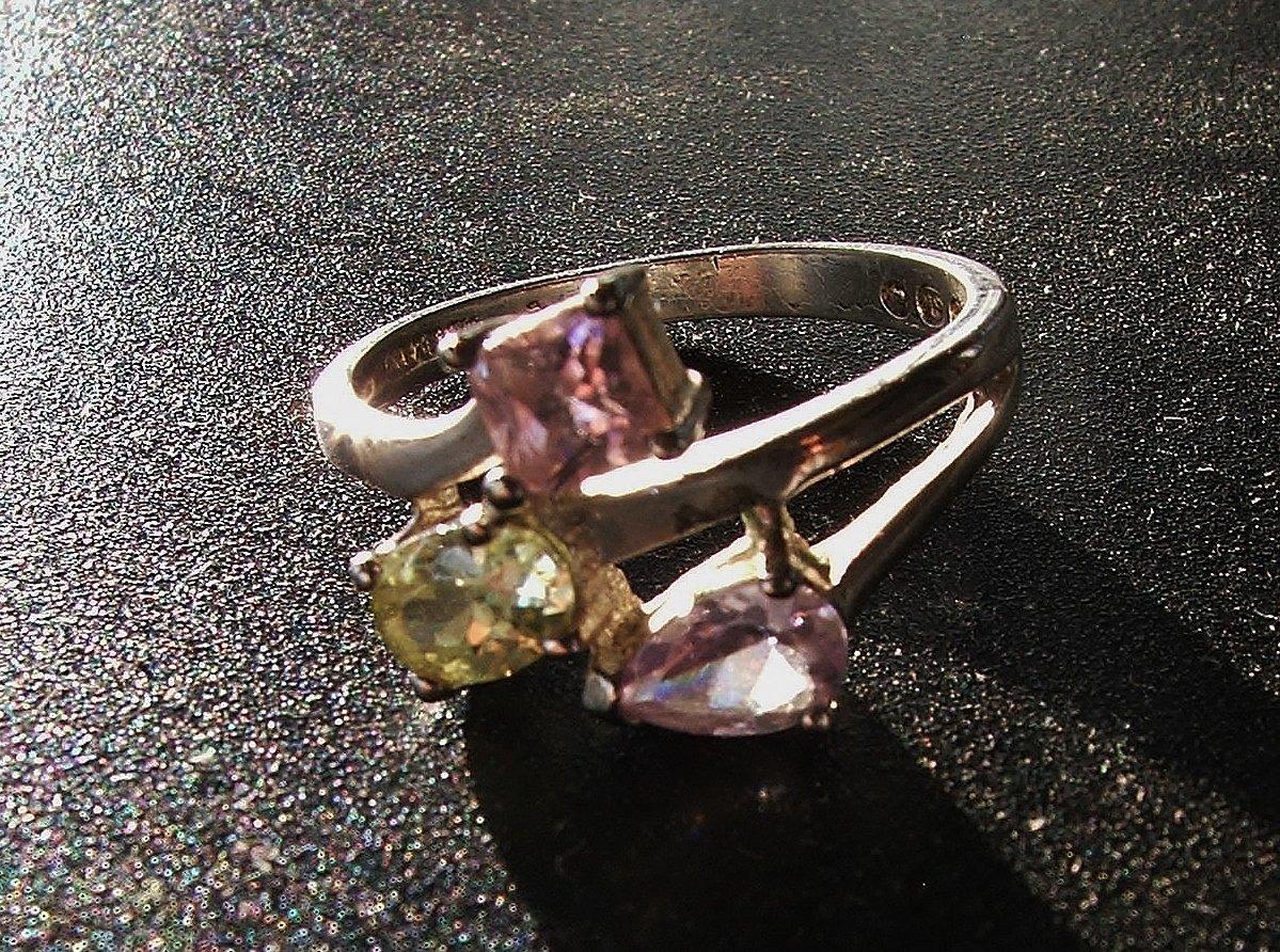 Silver & Semiprecious Gemstone Ring