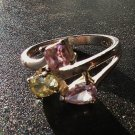 Silver & Semiprecious Gemstone Ring