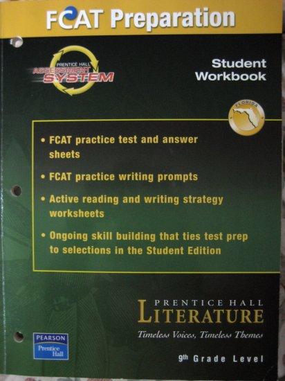 FCAT Prep LITERATURE Student WORKBOOK 9 Gr Level P.Hall