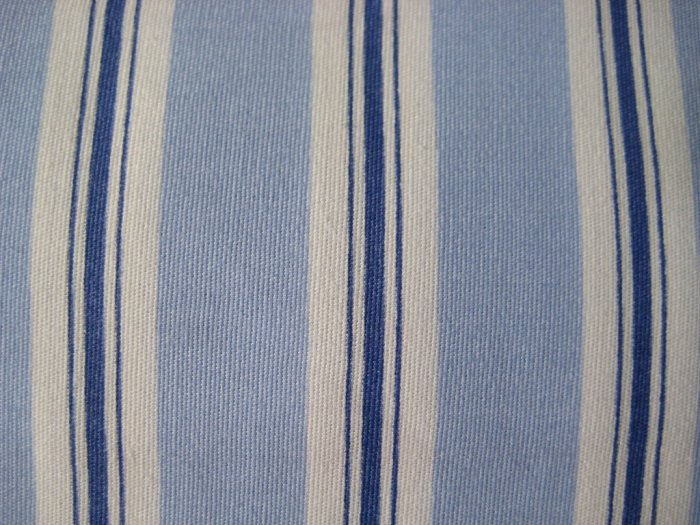 Ralph Lauren PILLOWCASES Harbor View Stripe Blue STD QN