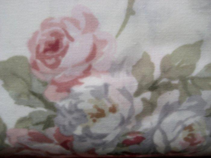 Ralph Lauren FULL FLAT Faye Floral Pink Roses SHEET NIP