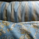 Ralph Lauren SARAH Floral TOILE Blue ACCENT PILLOW New