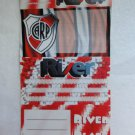 CARP RIVER PLATE FOOTBALL SOCCER Argentina ADHESIVE LABELS Imported
