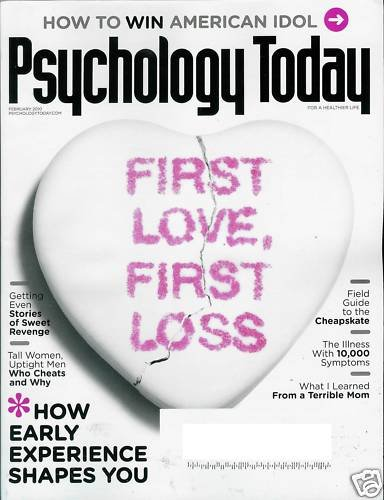 First Love Psychology Today 2
