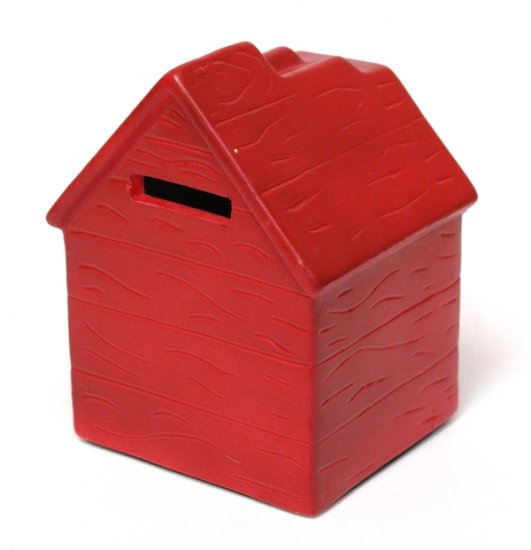 RED DOG HOUSE BANK - set of 2 - DISCOUNT GIFTS ONLINE