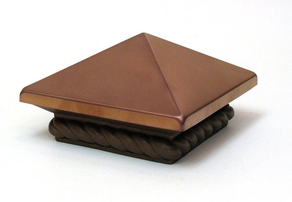 Satin Copper Post Cap - DISCOUNT GIFTS ONLINE - OUT OF STOCK