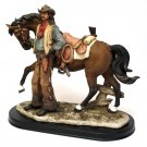 Old West Cowboy with Horse - Discount Gifts Online