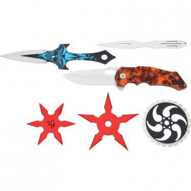 Rampant� 6pc Modern Day Ninja Kit
