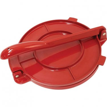 "Chef's Secret® 8"" Red Tortilla Press"