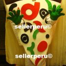 NEW ADULT PIZZA DELUXE COSTUME MASCOT 5' 9""
