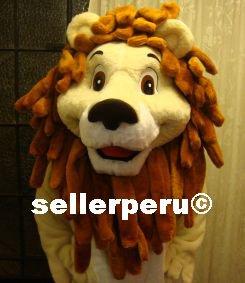"BIG LION DELUXE NEW ADULT COSTUME  MASCOT  5' 9"""