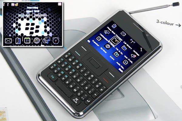 "2.2"" TV FM 4-Band 2-SIm Standby Bluetooth JAVA Mobile P0-TVN90"