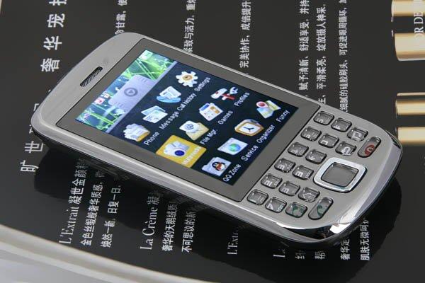"2.7"" TFT 4-Band 2-Sim Standby Bluetooth Cellphone 2GB PB86-G666"