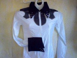 White/Black, Showmanship, Western Pleasure, Rail, Shirt