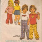 Simplicity Sewing Pattern 7061 Vintage Toddler 2 Applique Top Pants Fire Truck