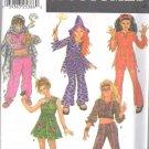 Simplicity 9944 Girls7-14 Halloween Costume Hippie Geni Uncut Top Pant Hat Devil