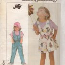 Simplicity Sewing Pattern 7926 Girls Jumpsuit Shortall Romper Uncut Size 2,3,4