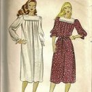 Butterick Sewing Pattern 4316 Loose Dress Square Collar Loose Elastic Sleeves 14