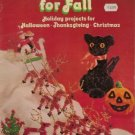 Craft Cuties for Fall Holiday Projects for Halloween Thanksgiving Christmas 1980