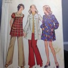 Simplicity Sewing Pattern 5368 Maternity Mini Smock Dress Pants 10 Vintage 70s
