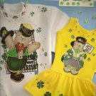 Daisy Kingdom Irish No Sew Applique New Teddy Bear Shamrock Paint OOP 1995