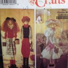 "Simplicity Sewing Pattern 8588 Dowel Dolls  3 Styles 22"" Uncut Crafts Cotton Way"