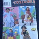 Simplicity Sewing Pattern 8356 Fairy Tale Costumes Snow White Red Ride Hood  3-8