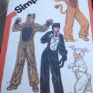 Simplicity Sewing Pattern 5739 Animal Costumes Halloween Rabbit 10-12 boy girl
