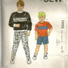 Kwik Sew Sewing Pattern 1999 Boys Shirts Shorts Pants 8-14 Kerstein Martensson