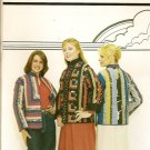 Patches of Joy Pattern 1000 Leslie Patchwork Jacket 3 Style Variation Uncut S-L