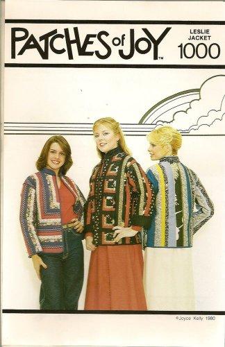 Patches of Joy Pattern 1000 Leslie Patchwork Jacket 3 Style Variation Uncut S-L