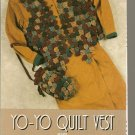 Indygo Junction Designs Sewing Pattern IJ307 Yo-Yo Quilt Vest Bag Uncut 1993