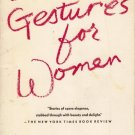 Obscene Gestures for Women Janet Kauffman15  Stories PB 1990