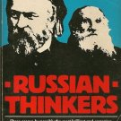 Russian Thinkers PB 1979 Isaiah Berlin Petersburg Moscow