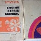 Lot of 4 Toyota Books Factory Corona Mark II Engine Repair 2M 4M 1972
