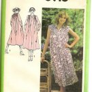 Simplicity Sewing Pattern 8916 Boho Pullover Smocked Flared Dress Sz 10 Uncut