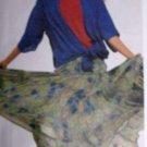 McCall's Sewing Pattern 3026 Womens's Ruffled Skirt Tops 10 Peasant Tank Uncut