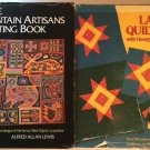 Quilt Books Mountain Artisans Alfred Allan Lewis Lap Quilting Georgia Bonesteel