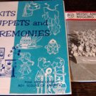 Boy Scout Leader Books Skits Puppets Pow Wow Series Music Bugling Merit Badge