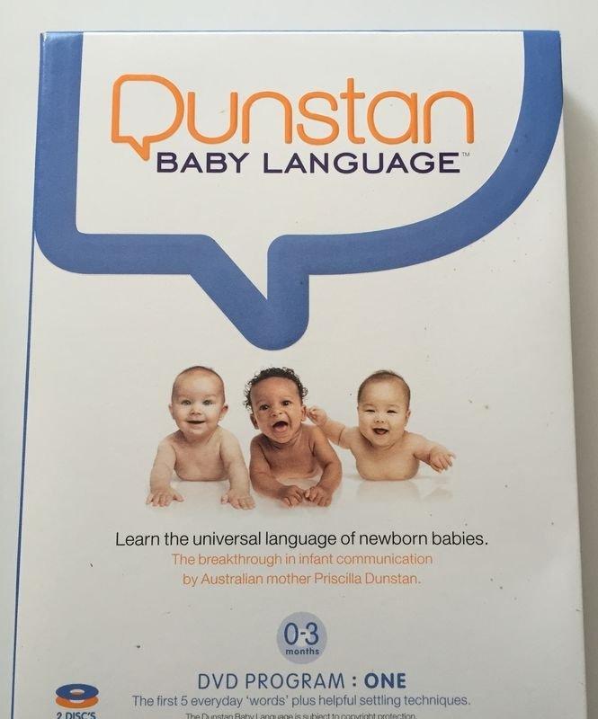 Dunstan Baby Language Learn Universal Language Newborn Babies 2 DVs